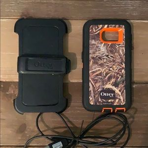 Otter Box camouflage case for Samsung S6